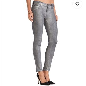 J brand metallic jeans brand new without tags